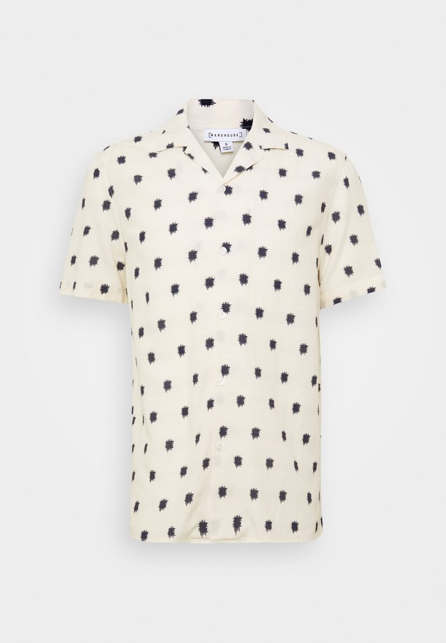 ABSTRACT PRINT - Shirt - off white