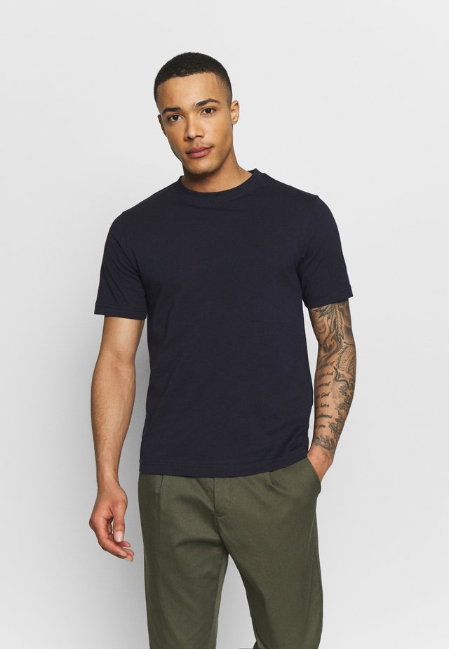 CREW NECK - Basic T-shirt - navy