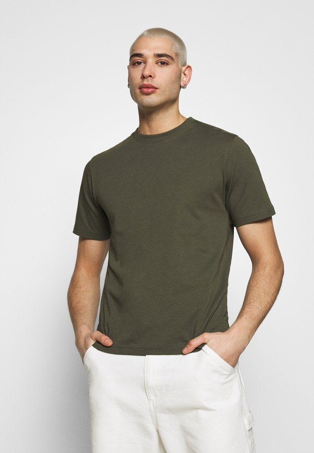 CREW NECK - T-Shirt basic - khaki