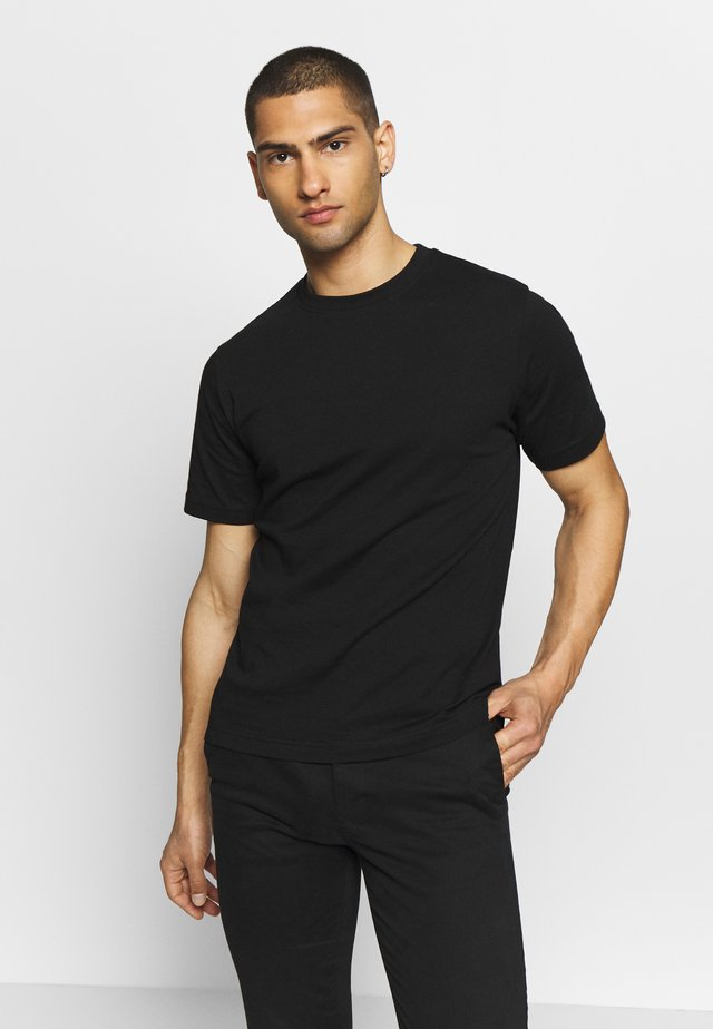 CREW NECK - T-shirts basic - black