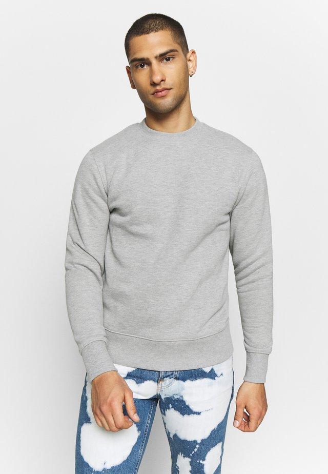 CREW NECK - Collegepaita - grey