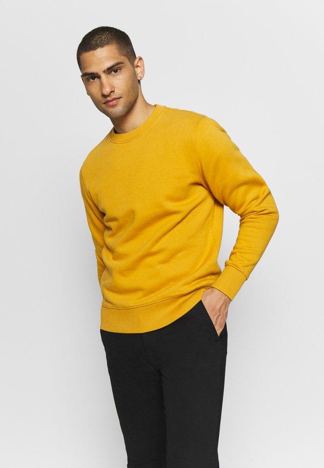 CREW NECK - Sweatshirt - mustard