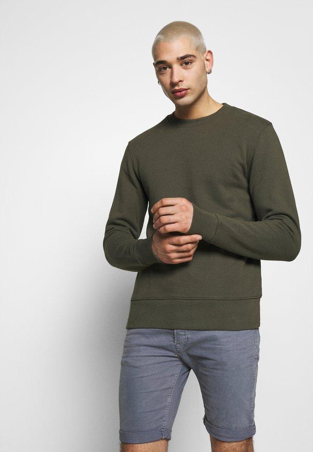 CREW NECK - Sweatshirt - khaki
