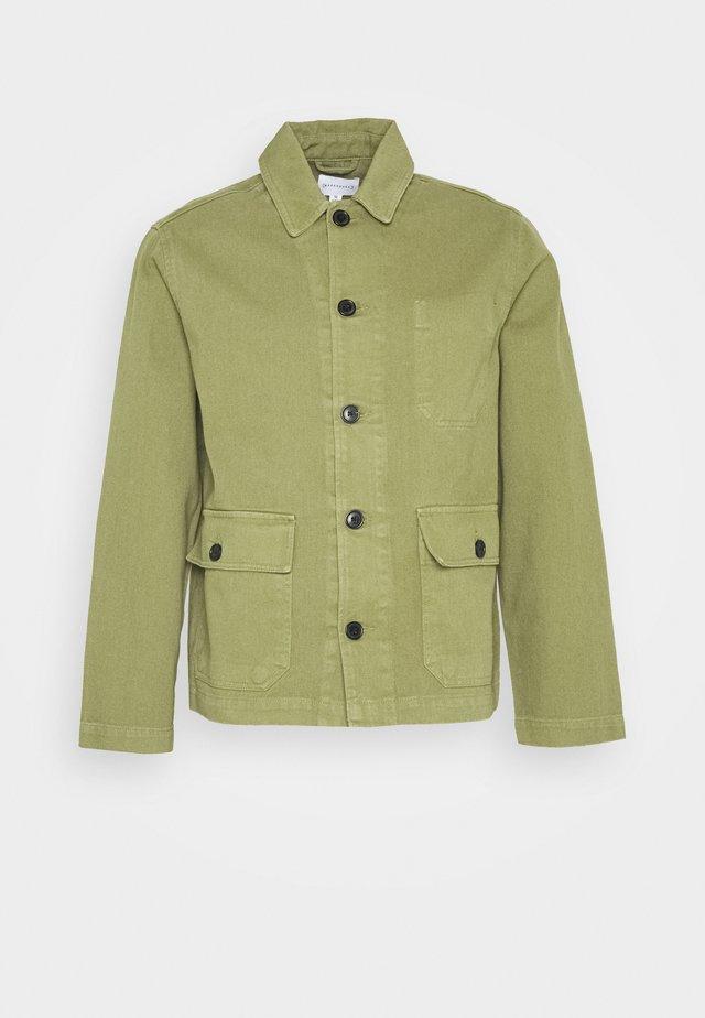UTILITY JACKET - Summer jacket - khaki