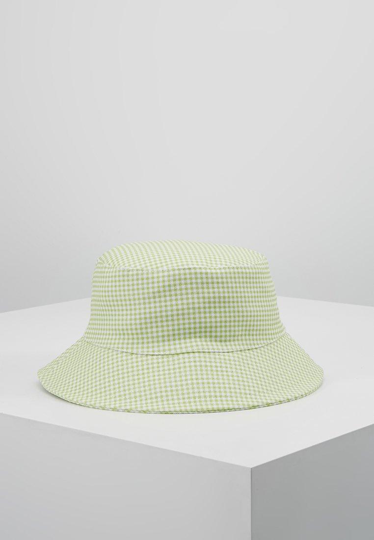 Warehouse - SHRIMPS GINGHAM BUCKET HAT - Hat - green