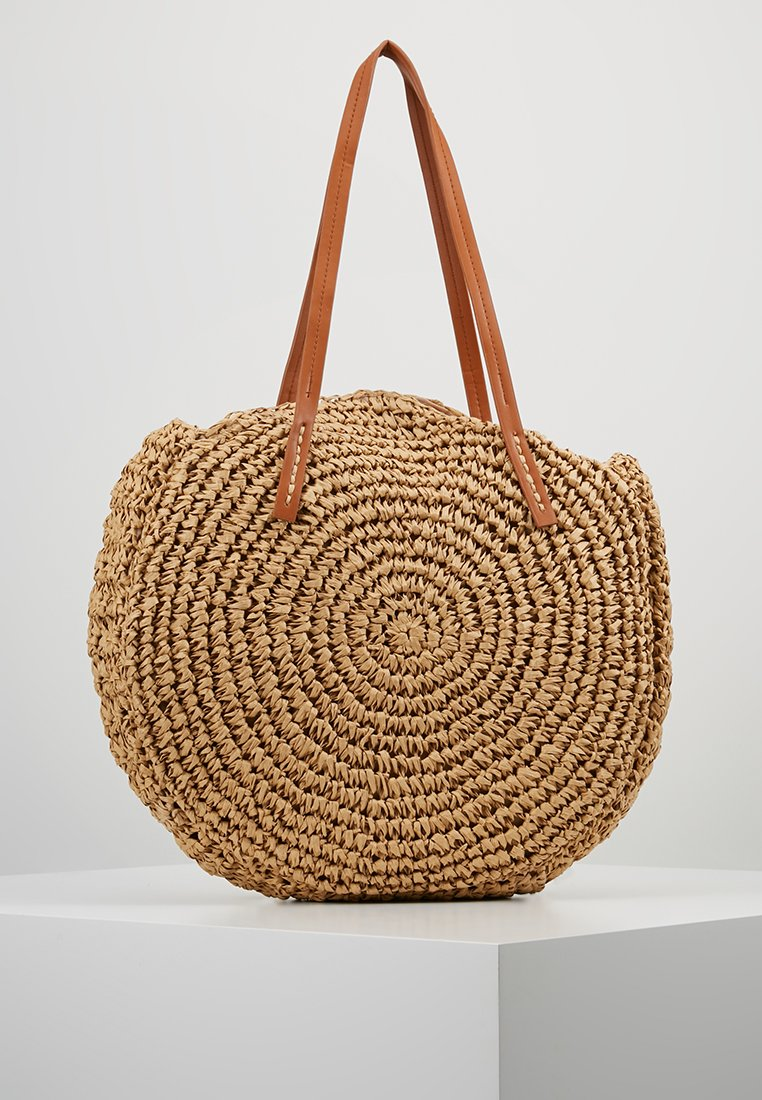 Warehouse - CIRCLE SHOPPER - Shopping bag - tan