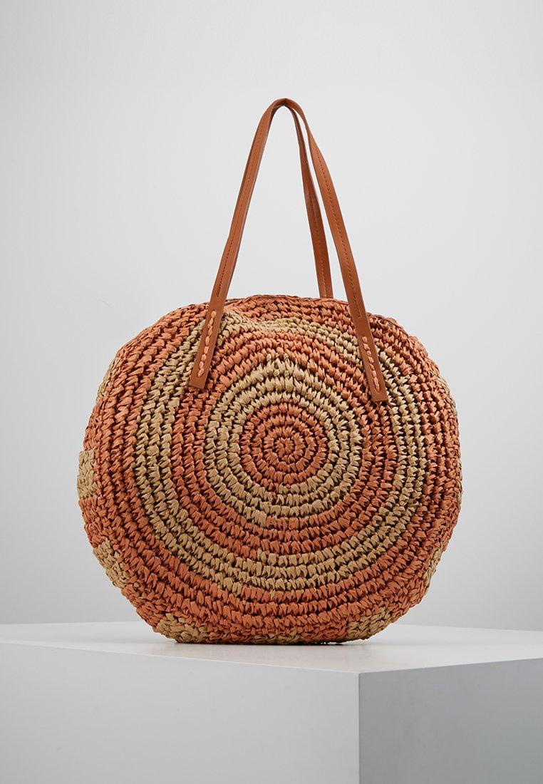 Warehouse - CIRCLE SHOPPER - Tote bag - orange