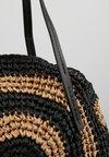 Warehouse - CIRCLE SHOPPER - Shopping bag - black