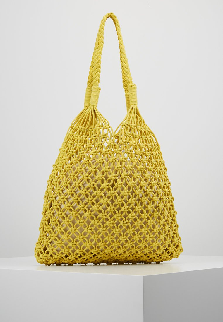 Warehouse - SHOPPER - Cabas - yellow