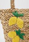 Warehouse - LEMONS BUCKET BAG - Handbag - beige
