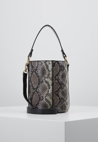 Warehouse - SNAKE BUCKET BAG - Kabelka - brown - 0