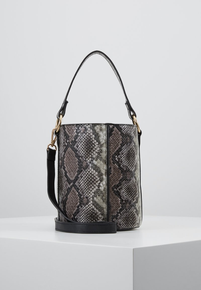 Warehouse - SNAKE BUCKET BAG - Kabelka - brown