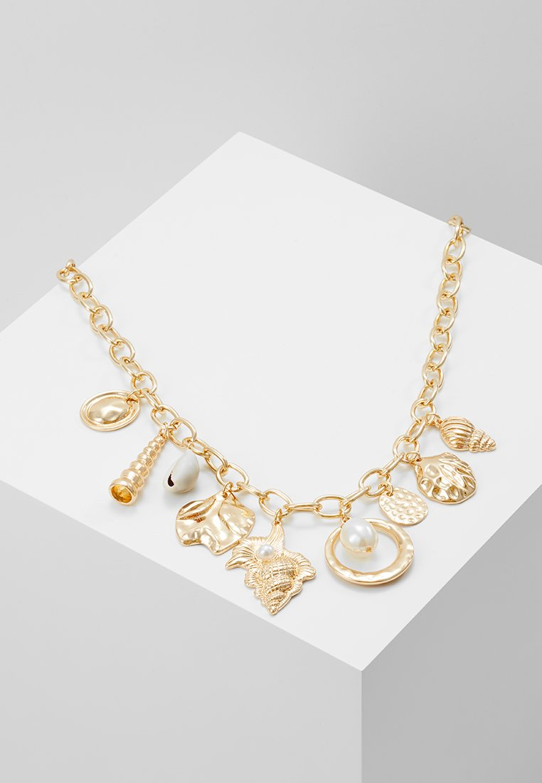 Warehouse - CHARM COLLAR - Necklace - gold-cloured