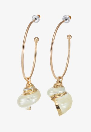 LARGE - Earrings - gold-coloured