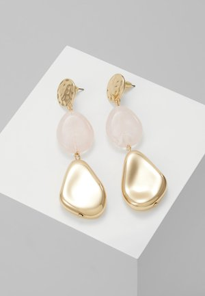OVAL DROP - Orecchini - pink