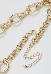 Warehouse - CIRCLE LINK COLLAR - Collana - gold-coloured - 2