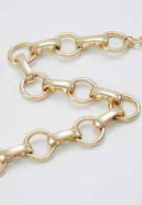 Warehouse - CIRCLE LINK COLLAR - Collana - gold-coloured - 4