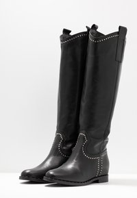 WAY OUT LONDON - Cowboy/Biker boots - nero - 4