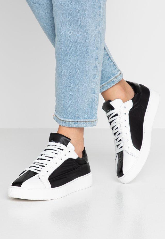 Baskets basses - bianco/nero