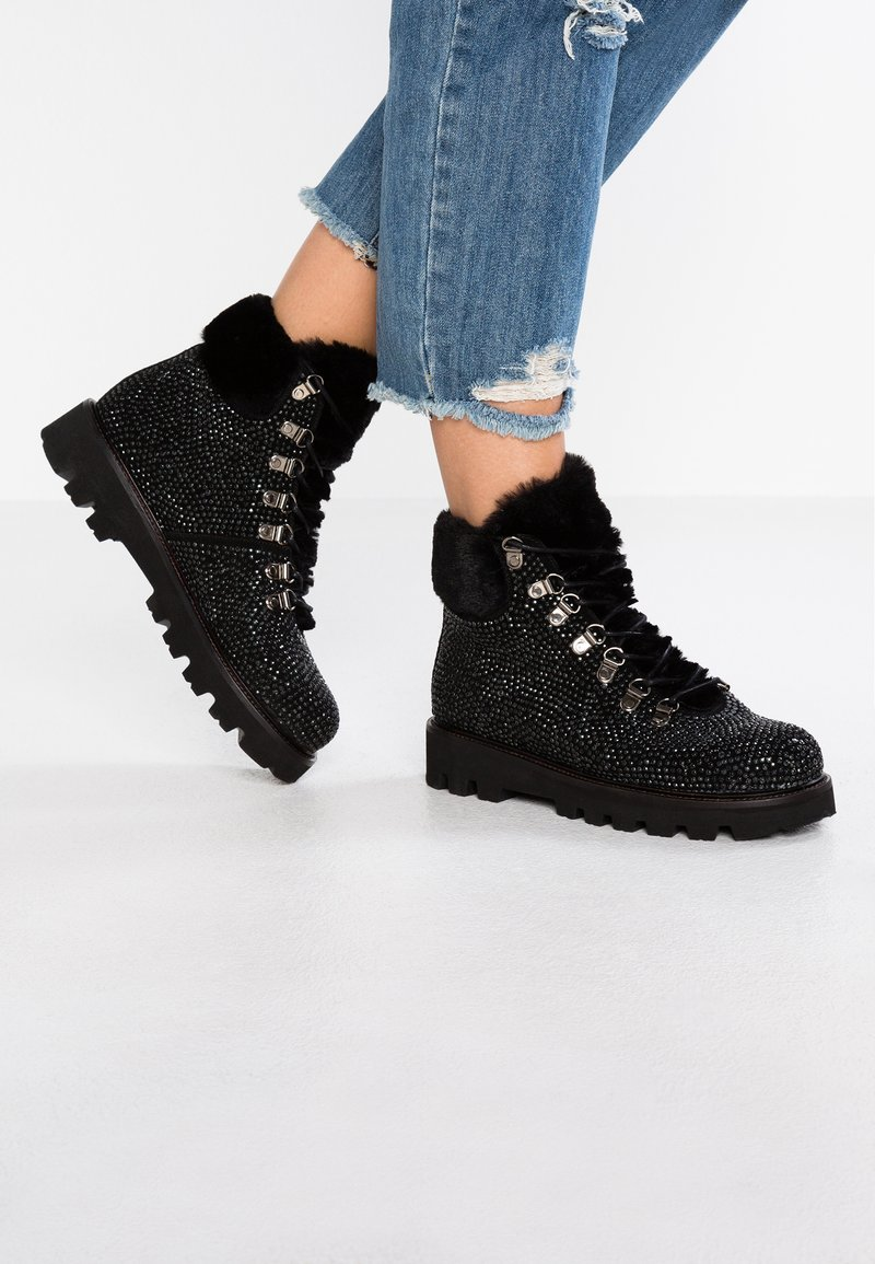 WAY OUT LONDON - Ankle boots - nero