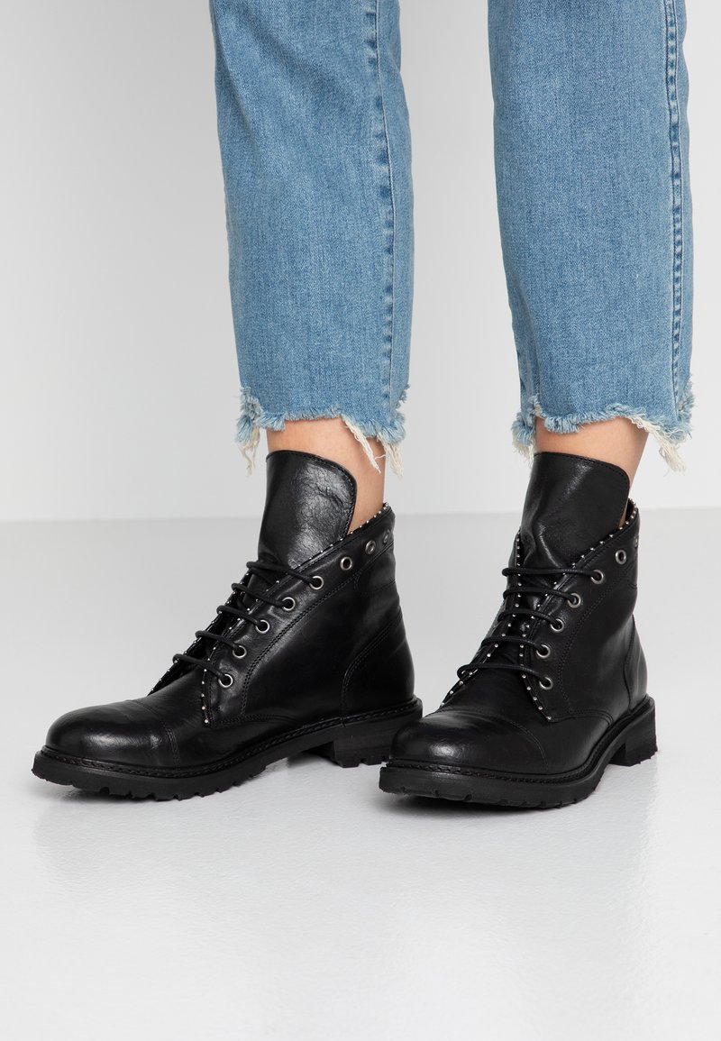 WAY OUT LONDON - VENICE - Ankle Boot - nero