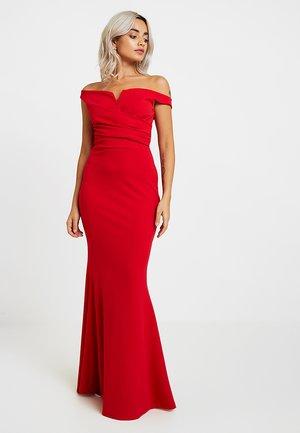 EXCLUSIVE BARDOT MAXI - Festklänning - red