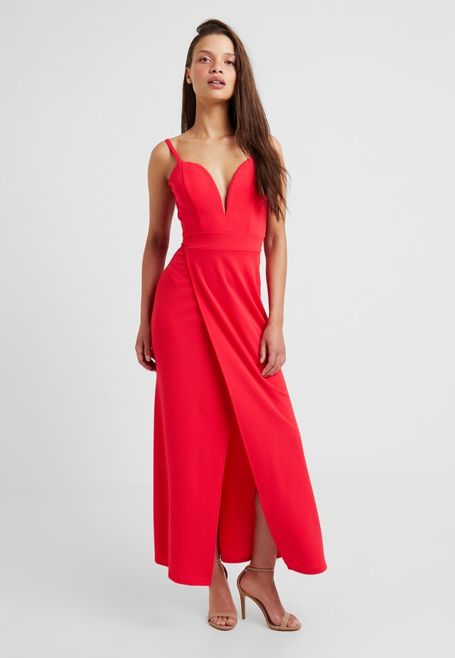 EXCLUSIVE STRAPPY - Occasion wear - coral