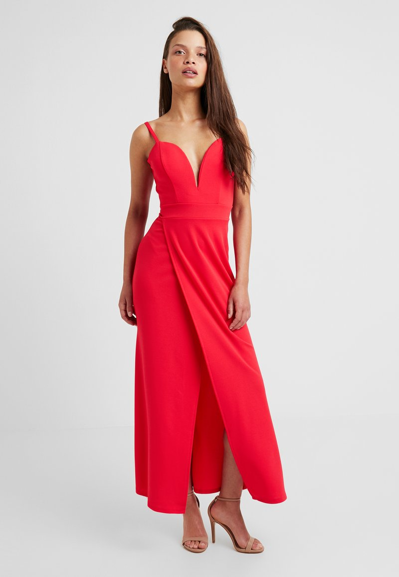 WAL G PETITE - EXCLUSIVE STRAPPY - Gallakjole - coral