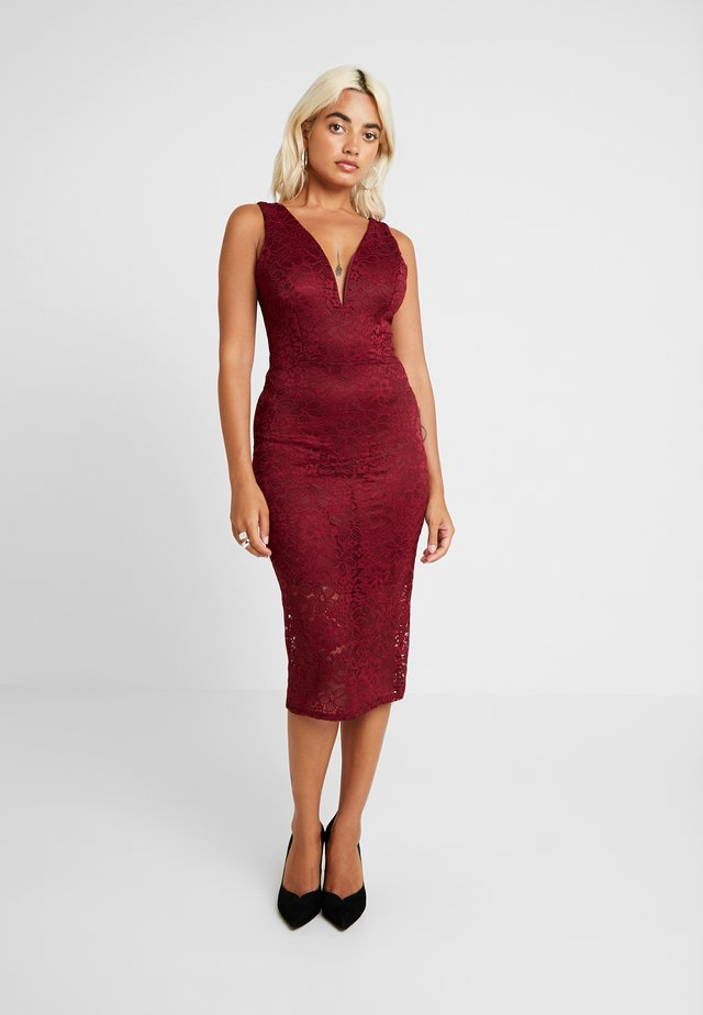 MIDI - Cocktail dress / Party dress - wine