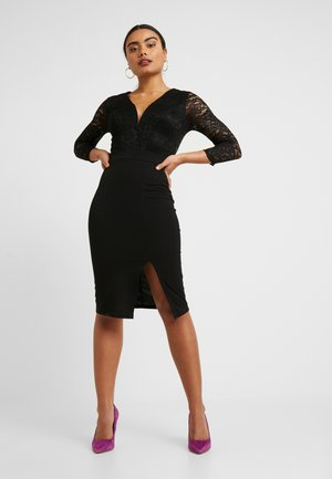 MIDI DRESS - Vestito elegante - black