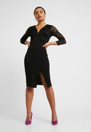 MIDI DRESS - Cocktail dress / Party dress - black