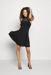 WAL G PETITE - DRESS - Žerzejové šaty - black - 1