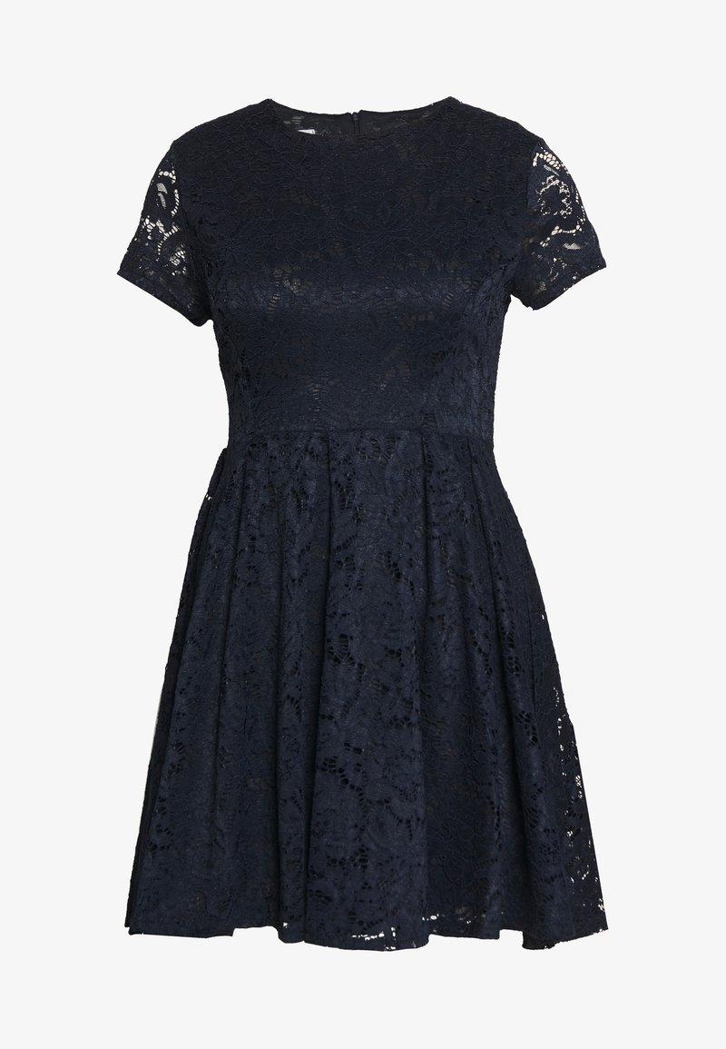 WAL G PETITE - PETITE SHORT MINI - Cocktail dress / Party dress - navy