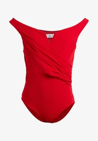 WAL G PETITE - EXCLUSIVE BARDOT BODYSUIT - Top - red - 3
