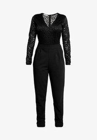 WAL G PETITE - EXCLUSIVE LONG SLEEVE - Jumpsuit - black - 4