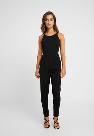 HALTER NECK - Mono - black