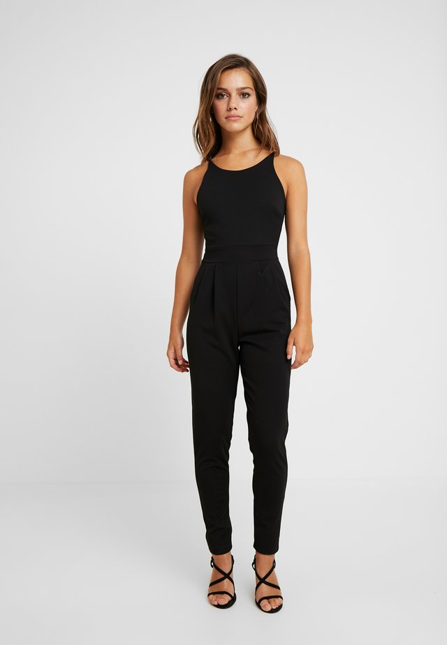 HALTER NECK - Jumpsuit - black