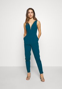 WAL G PETITE - PETITE EXCLUSIVE V NECK - Combinaison - teal - 1