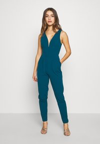 WAL G PETITE - PETITE EXCLUSIVE V NECK - Combinaison - teal - 0