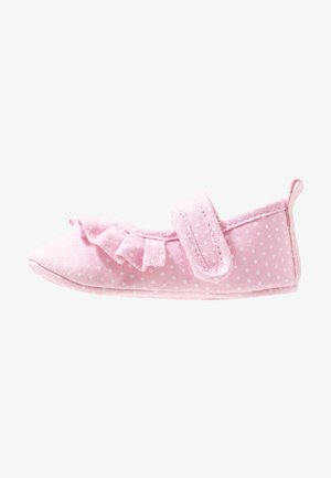 MINI FRILL - First shoes - pink