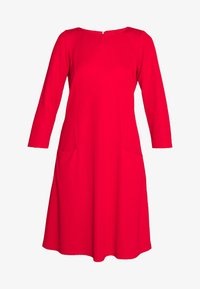 Wallis Tall - BUCKET POCKET SWING DRESS - Jersey dress - red - 3