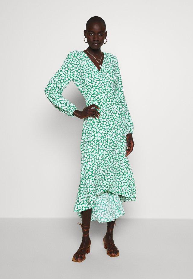 TALL GREEN SILHOUETTE MIDI DRESS - Korte jurk - green