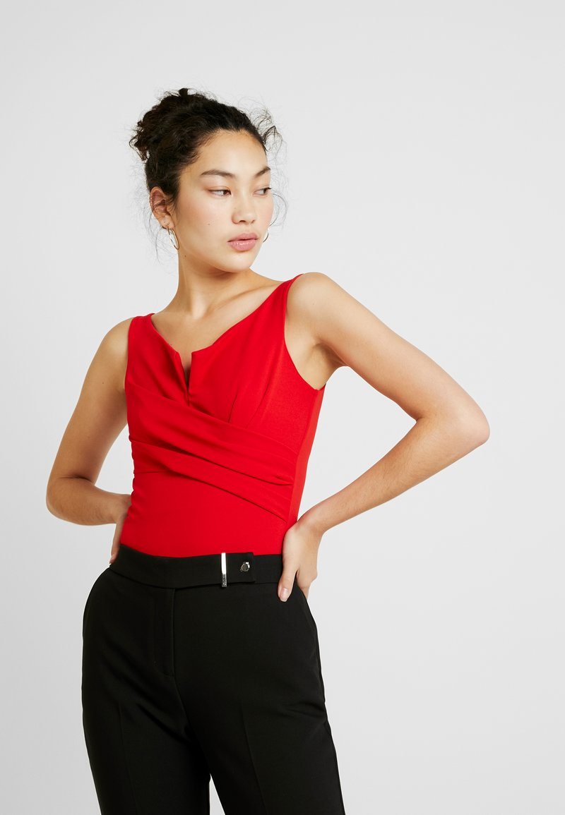 WAL G TALL - Top - red