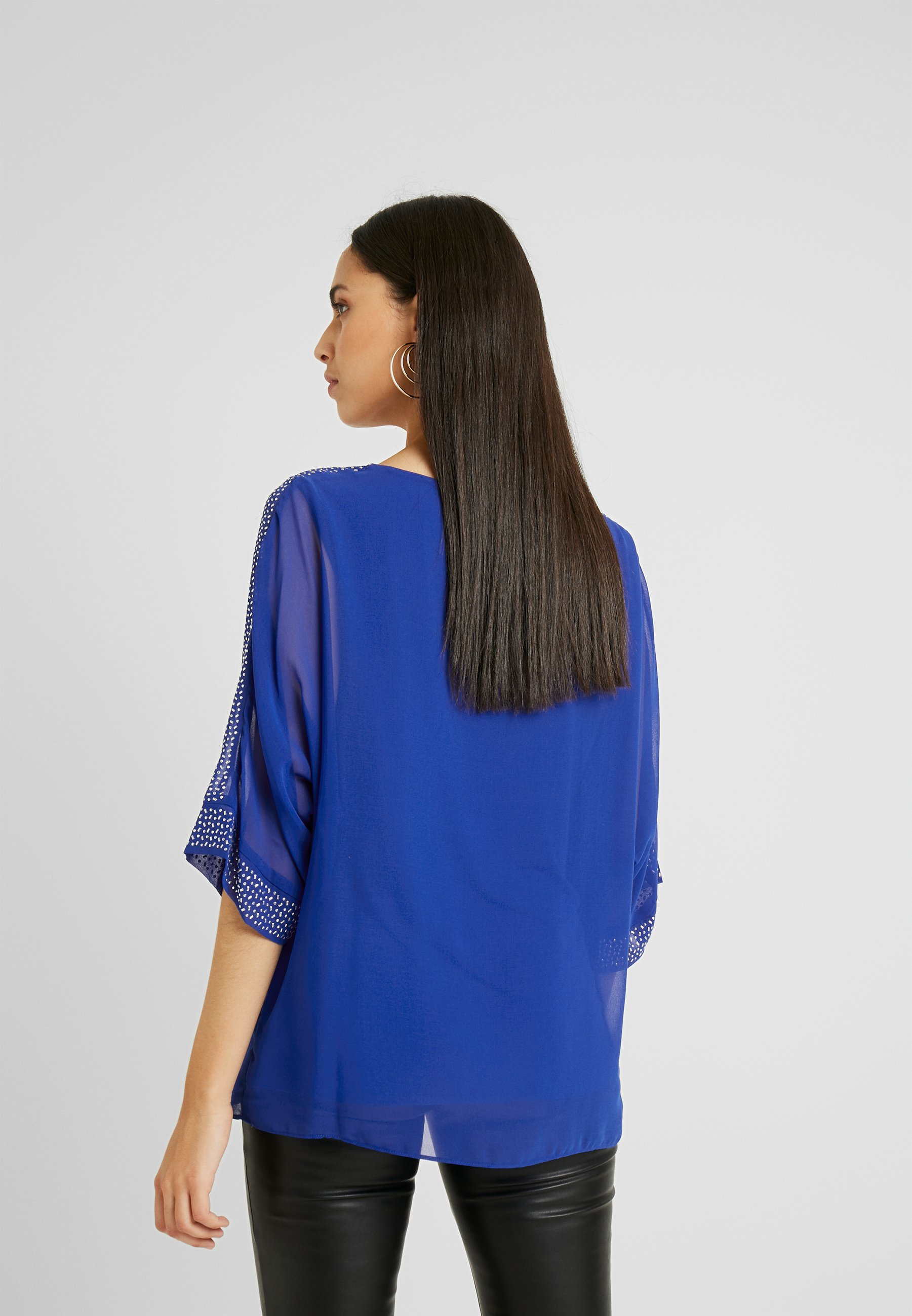 Wallis Tall Bluser - blue