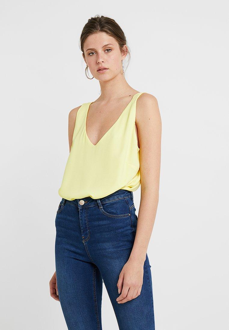 Wallis Tall - V NECK - Blouse - yellow