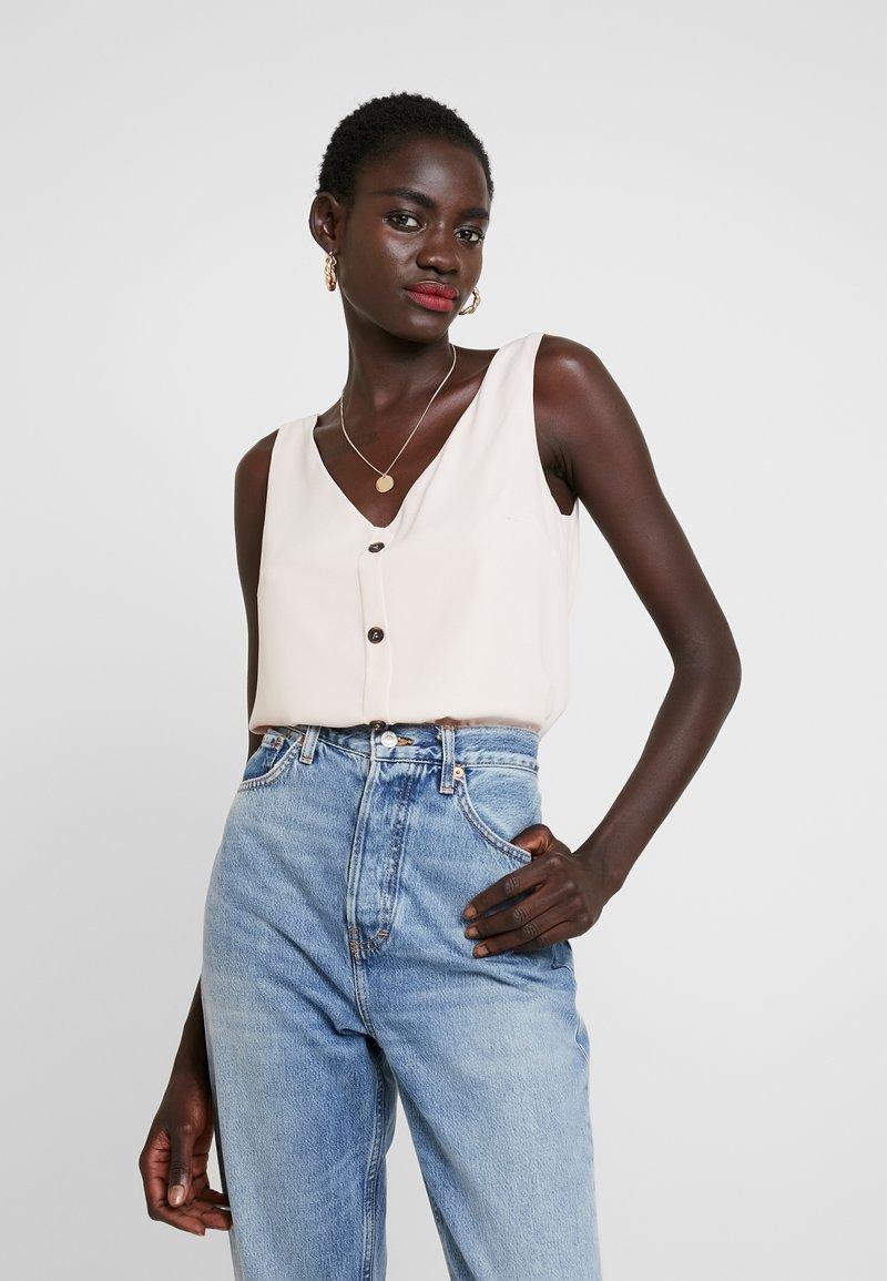 Wallis Tall - BUTTON THROUGH CAMI - Blouse - blush