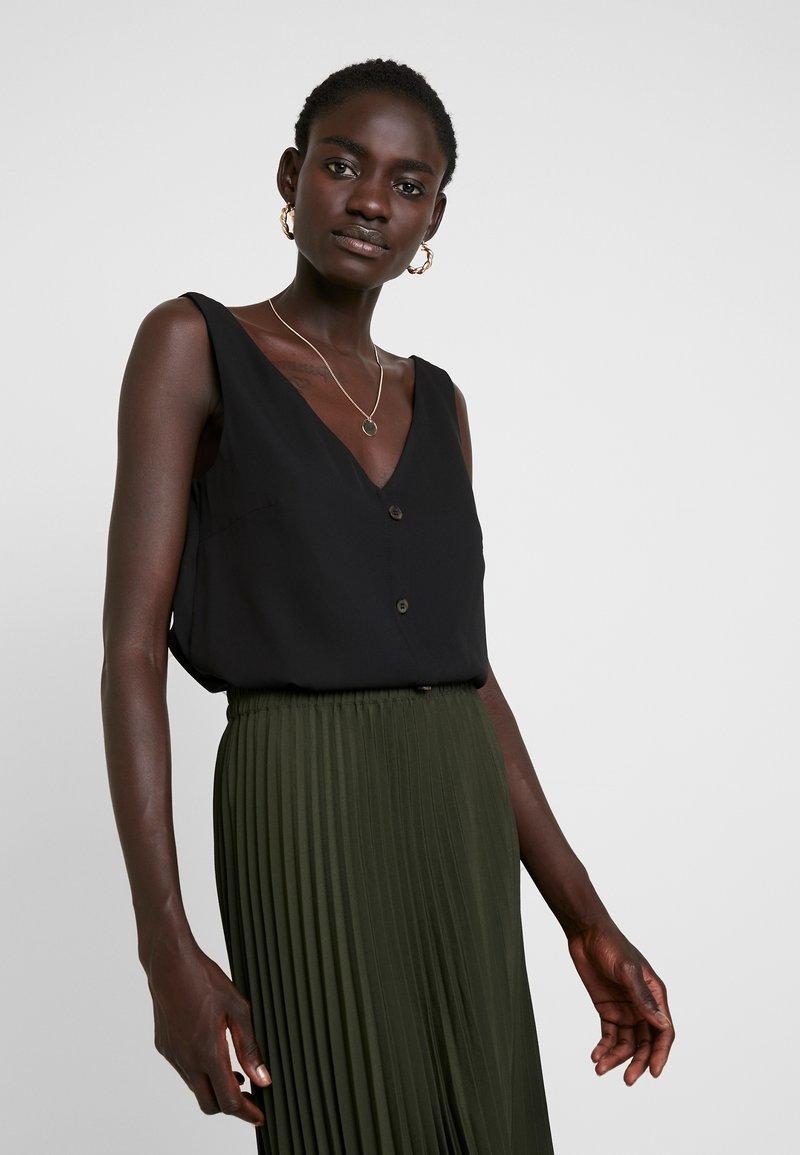 Wallis Tall - BUTTON THROUGH CAMI - Blouse - black