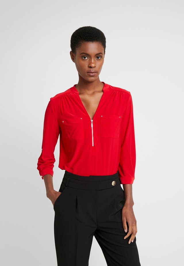 ZIP - Blouse - red