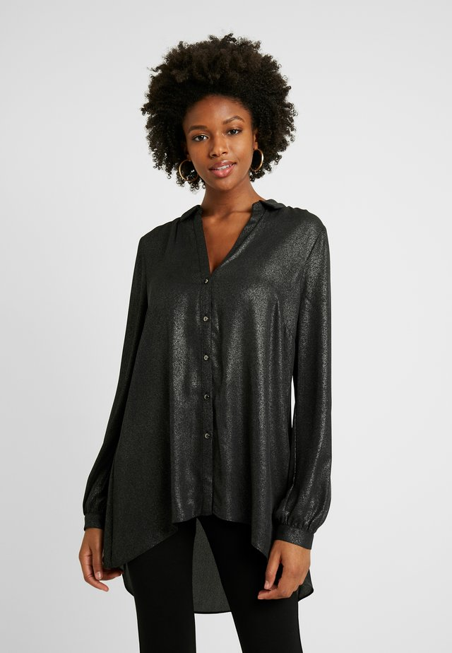 FOILED SHIRT - Bluser - black