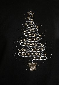 Wallis Tall - SWIRL CHRISTMAS TREE JUMPER - Jumper - black - 5